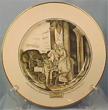Adams Cries of London Luncheon Plate Duke Cherries Transferware Vintage