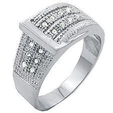 Cubic Zirconia Glass Rhodium Fashion Jewellery