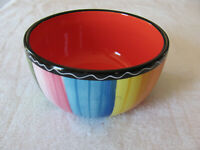 Certified International Nancy Green-Serape- Individual Ice Cream Bowl - 5 3/8""