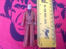 Vintage Star Wars Obi Wan Kenobi Cheveux Gris Figure 1977 ORIGINAL Hong Kong