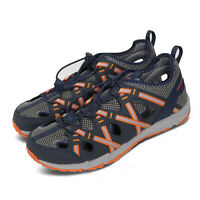 Merrell Hydro Choprock Shandal Navy Grey Orange Kid Preschool Sandals MK262547