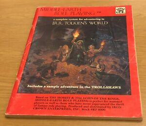 MIDDLE-EARTH ROLE PLAYING J R R Tolkien's World Book (Paperback) 1984