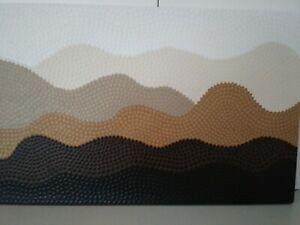 "Aboriginal dot art. Title ""Sandhills"""