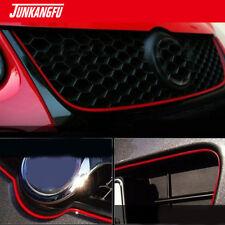 5M Universal Chrome Flexible Trim Car Moulding Strip Decorative Line RED