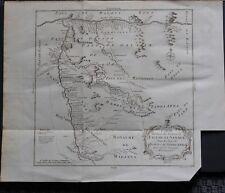 Afrique - Cartes XVIIIième - rivières de Faleme et Sanaga - Sénégal - BELLIN