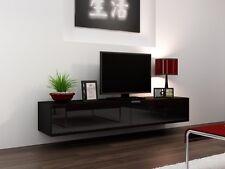 Sideboard hängend schwarz  Fernsehregal TV Rack 3 Auszüge Hochglanzlack schwarz | eBay