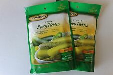 2 Pk Mrs.Wages Spicy Pickle Seasoning Hot 6.5 oz all Natural, Canning Jalapeno