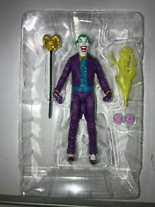 MULTIVERSE THE JOKER. 6 Inch Action Figure 80th  Anniversary LOOSE NEW