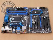 Original MSI ZH77A-G43 PLUS LGA 1155/Socket H2 Motherboard MS-7758 Intel H77