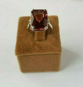 SOLID STERLING 925 SILVER JEWELRY ALEXANDRITE GEMSTONE ( Color Change  LADY RING