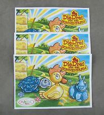 Satz BPZ die drei von der Sonnenfarm 2005 UeEi Spielzeug Überraschungsei