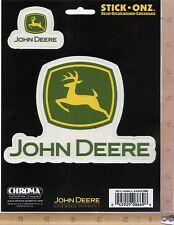 John Deere Green Logo Vinyl Decal Window Sticker Car Truck Tractor Chroma 8669