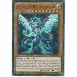 LDS2-EN047 Galaxy-Eyes Photon Dragon   Ultra Rare 1st Edition YuGiOh Card TCG