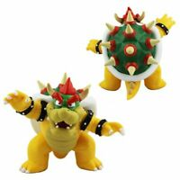 """Super Mario Brothers Bros 4"""" Action Figure Bowser Childrens Cake Toy USA SELLER"""
