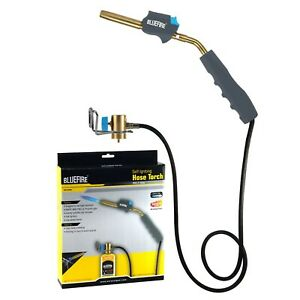BLUEFIRE Self-Igniting Gas Welding Turbo Torch with 3' Hose,MAPP MAP-pro Propane