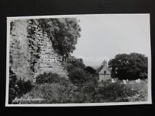 Herefordshire KILPECK CASTLE RUIN & Church - Old RP Postcard by Walter Scott P87