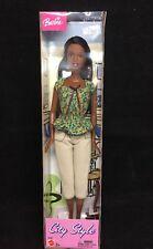 "Barbie African American City Style Doll 11.5"" Mattel 2003 NIB"