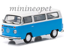 GREENLIGHT 96150E MOTOR WORLD SERIES 15 1977 VOLKSWAGEN TYPE 2 BUS VAN 1/64 BLUE