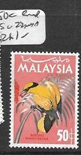 MALAYA MALAYSIA (P0701B) BIRD 50C SG 22  MNH