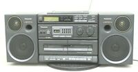 Panasonic RX-DT680 Vintage Portable Stereo Component CD System S-XBS Speakers