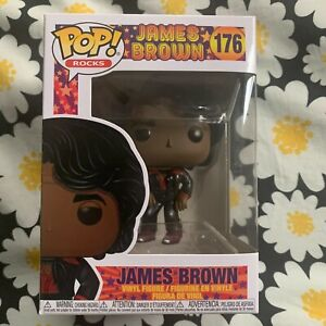 James Brown Funko Pop - Pop Rocks #176