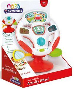 44030848-C Clementoni® Lernspielzeug »Baby - Aktivitäts-Lenkrad« *NEU*