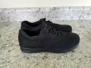 SAS Free Time Charcoal Black Suede Women's Shoes Size 8