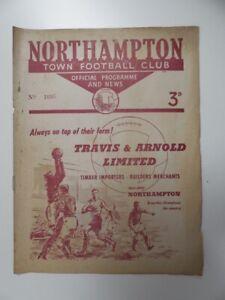 NORTHAMPTON TOWN v GILLINGHAM | 1955/1956 | DIV 3 (SOUTH) | 7 APR 1956