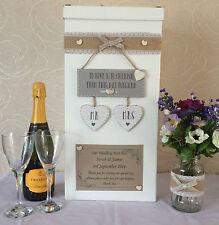 Personalised Wedding Post Box Ebay