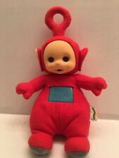 "1998 Teletubbies Red Po 15"" Talking Plush Stuffed Doll PlaySkool Hasbro Works"