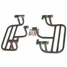 Pair Complete Left Right Side Footrest 2 Units For Willys CJ Commander Jeeps