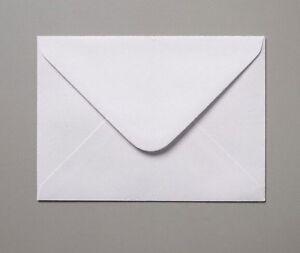 50 x C5 White 100gsm Dia. flap Envelopes 100gsm Greeting Card A5 Wedding Invites