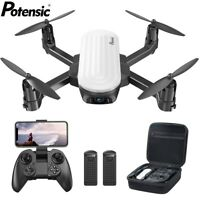 Potensic Elfin Foldable Drone with 2K Camera FPV RC Quadcopter Gesture Control