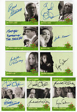 Night Of The Living Dead Master Card Set Base Chase Promo Autograph Sketch Plate