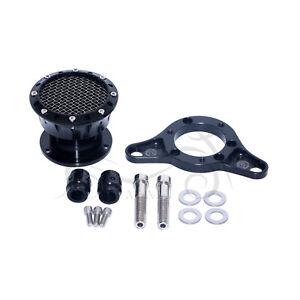 Black Aluminum Air Cleaner Intake Filter For Harley Sportster 883 91-14 XLH883