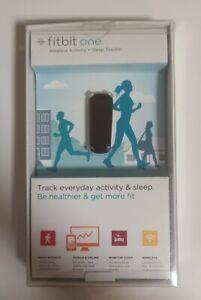 New Open Box Fitbit One Wireless Bluetooth Activity Steps Sleep Tracker