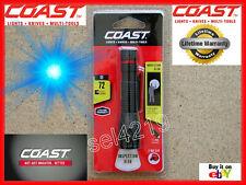 Coast G9 LED Flashlight 21500 Black Inspection Beam Spotlight Headlight (1) AAA