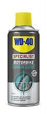 WD-40  HIGH QUALITY MOTORBIKE MOTORCYCLE CHAIN LUBE 400ML CAN LIMITED TIME OFFER