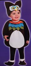 2T OWL VEST HALLOWEEN COSTUME ANIMAL BIRD WARM TOTALLY GHOUL