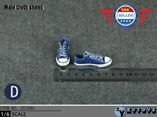 1/6 scale Converse Chuck all star Lace Up sneaker shoes for 12'' Male figure