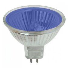 MR16 12V 50W HALOGEN LAMP LIGHT BULB RED BLUE AMBER GREEN YELLOW PINK MAGENTA