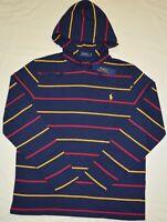 New Small S Polo Ralph Lauren Mens Polo logo T-shirt hoodie Navy blue Tee shirt