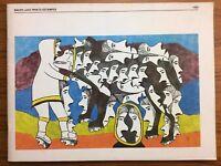 Vintage 1980 BAKER LAKE PRINTS Eskimo INUIT Artist Prints Catalog SANAVIK