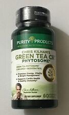 Purity Products Green Tea Cr (Curcumin + Resveratrol) 60 Veg Caps, Chris Kilham