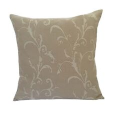 """Drapery/Acrylic Leaves 20""""x20"""" Green Decorative/Throw Pillow Case/Cushion Cover"""