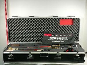 Romer CimCore 5028 Infinite Portable Arm with Base And Case Faro CNC #2