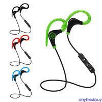 Drahtloser Sport Stereo Bluetooth Kopfhörer Headset für iPhone Samsung LG HTC
