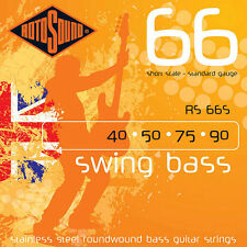 Rotosound RS66S Swing Bass 66 Stainless Steel Short-Scale Bass Guitar Str. 40-90