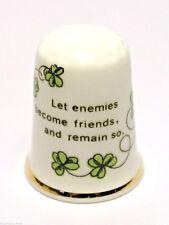 Fingerhut Thimble - Let enemies become friends and remain so