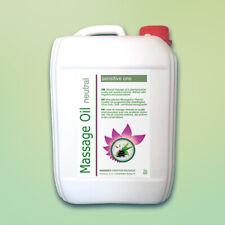 (3,98€/L) 5L Massageöl neutral, Basisöl für Physiotherapie + Wellness 5 Liter
